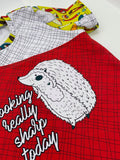 Hedgies Kid Panels - cotton lycra Round AA preorder