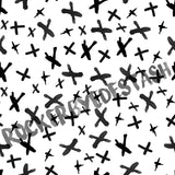 Sport Lycra ACCENT prints ROUND AA - 1 yard per quantity Coordinate designs Preorder Black and white