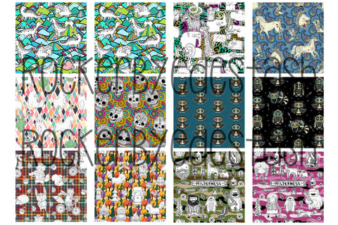 PREORDER Round L MUSLIN aka Double Gauze Scrap Packs - 6 different choices