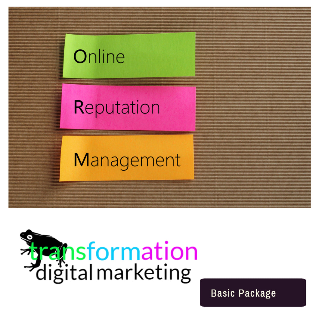 Essential  Online Reputation Management  | Frog Transformation - transformation digital marketing