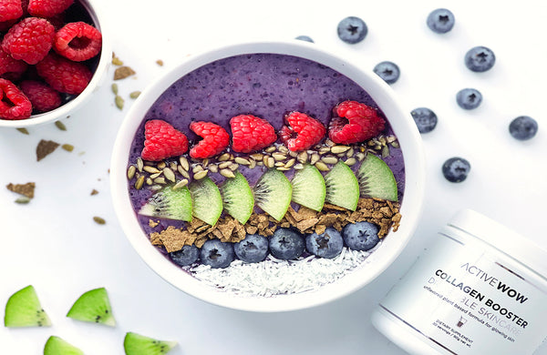 Smoothie bowl, anyone? Our Favorite Collagen Boosting Recipe