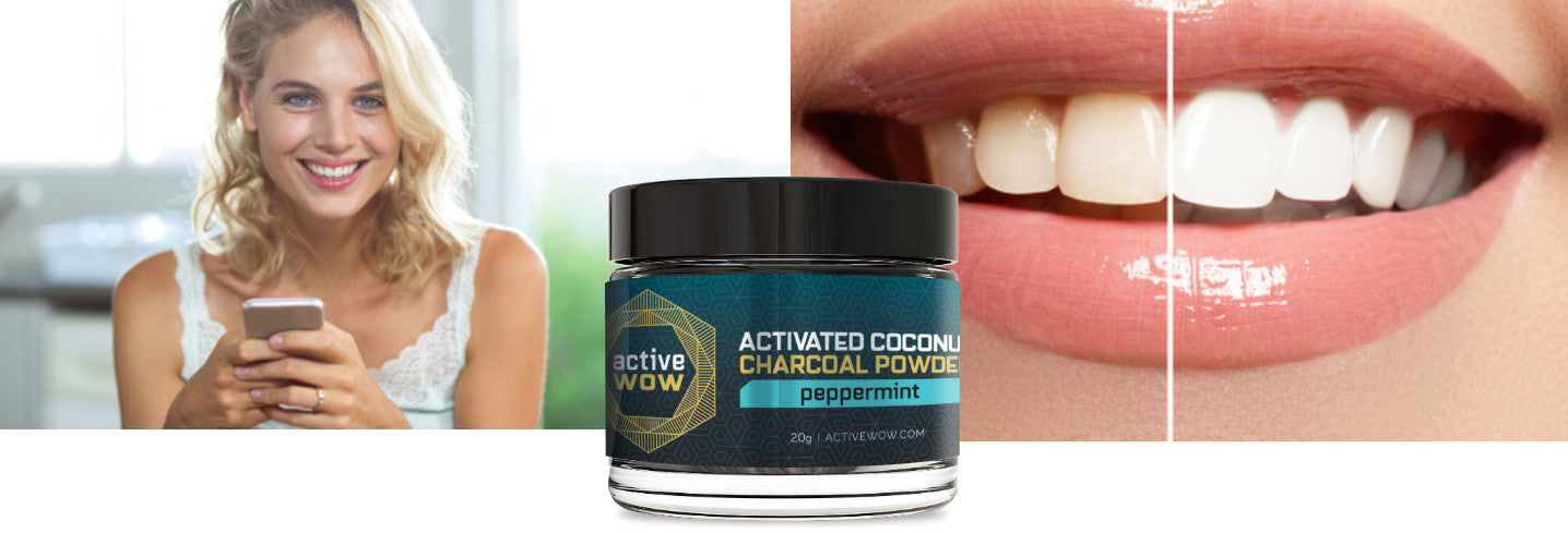 Activated Charcoal Before and After