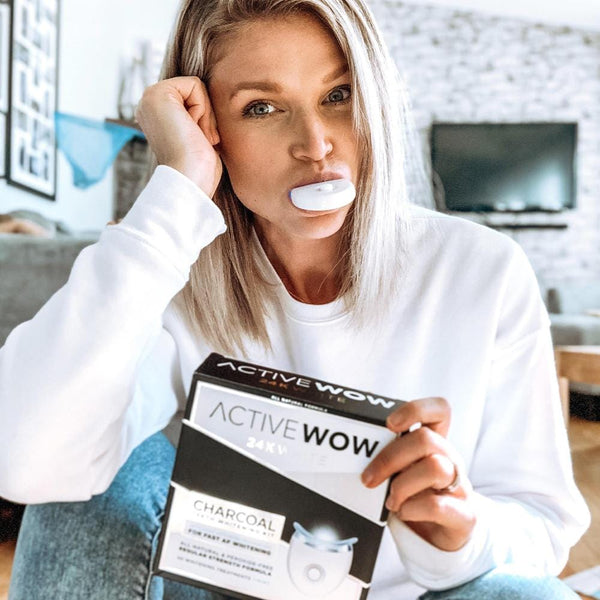 Charcoal Teeth Whitening Kit