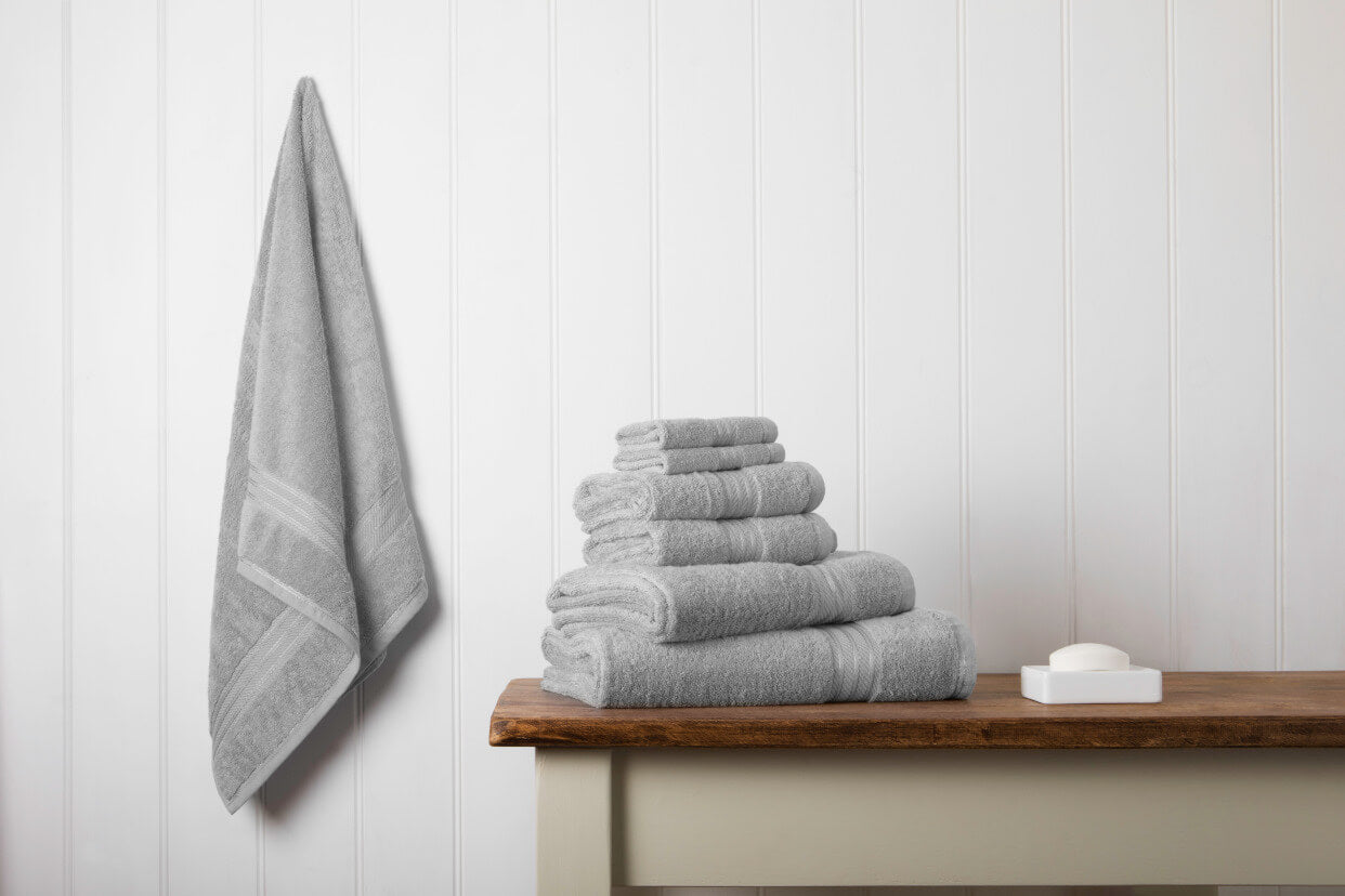 Introducing our indulgently thick towel collection