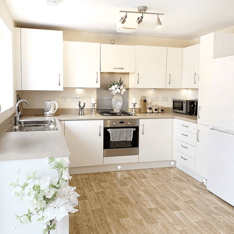 The kitchen is the heart of the home and the family spends most of their time in here relaxing, eating, cleaning, cooking, talking and even dancing.
