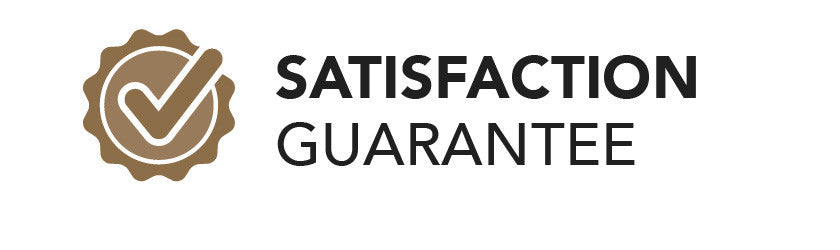 Satisfaction guarantee. Click for more details.