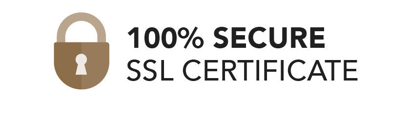 100% secure SSL certificate. Click for details.