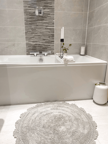 The bathroom is one of my favourite places in our home to relax and unwind