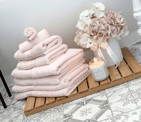 Hampton and Astley Egyptian cotton towels photo by @mrsphome_