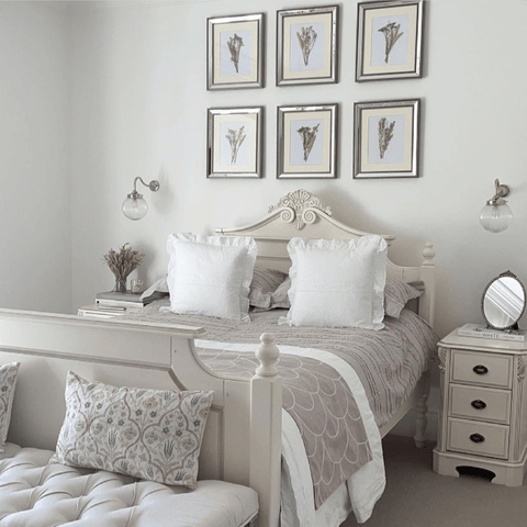 Classic French country styles provide inspiration in the bedroom