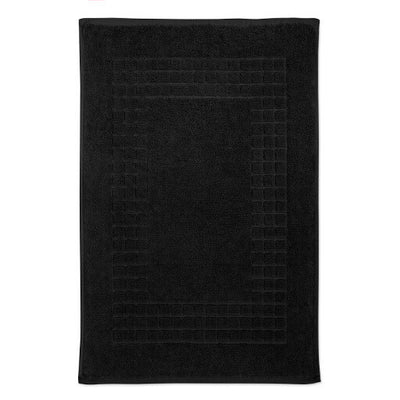 Black Bath Mat