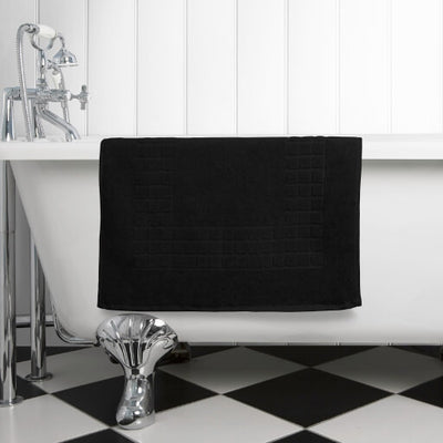 The perfect black bath mat for any bathroom or en-suite shower