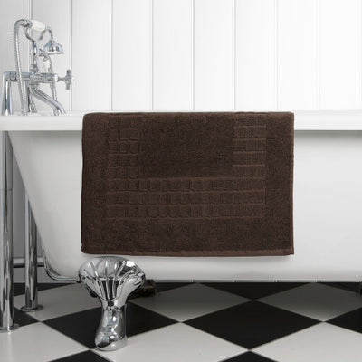 The perfect chocolate brown bath mat for any bathroom or en-suite shower