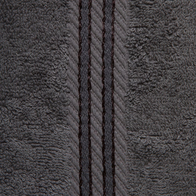 Beautifully designed, our dark grey towels make your bathroom feel like a spa