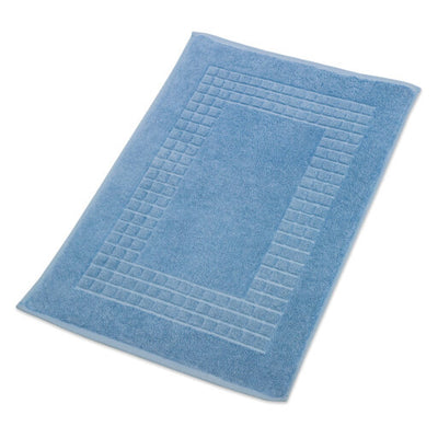 Blue Bathroom Mat
