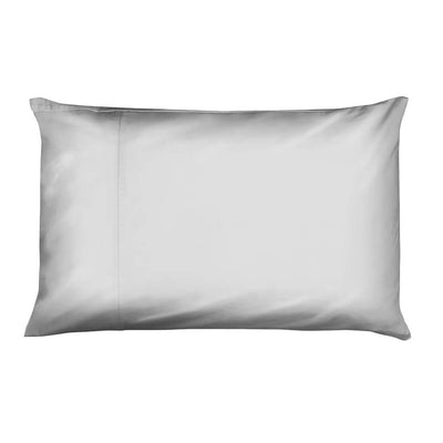 Luxury housewife pillowcase, grey