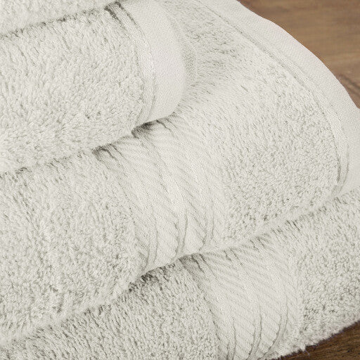Our cream bath sheets make your bathroom feel like a spa.