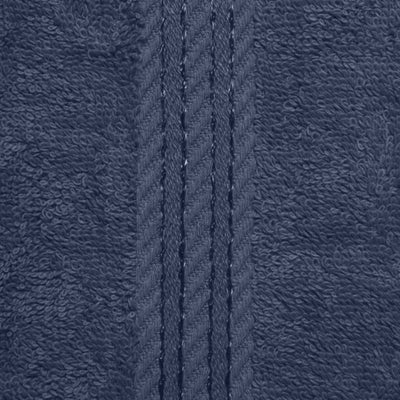 Beautifully designed, our Navy towels make your bathroom feel like a spa