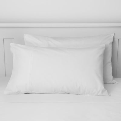 Two housewife pillowcases included in bedding set