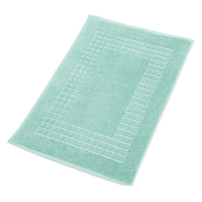 Green Bathroom Mat