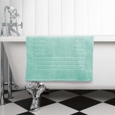 The perfect green bath mat for any bathroom or en-suite shower