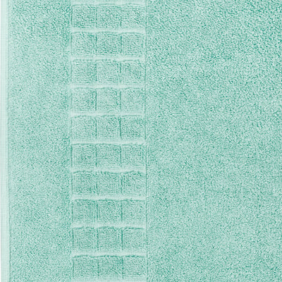 Luxury Egyptian cotton green bath mat that is soft and absorbent