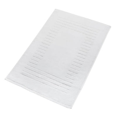 White Bathroom Mat