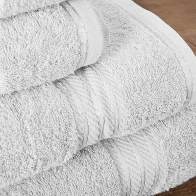 Hampton and Astley 100% Egyptian Cotton Luxury Bath Sheet, Pure White