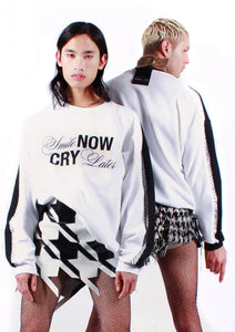 """Smile Now, Cry Later"" Sweater"