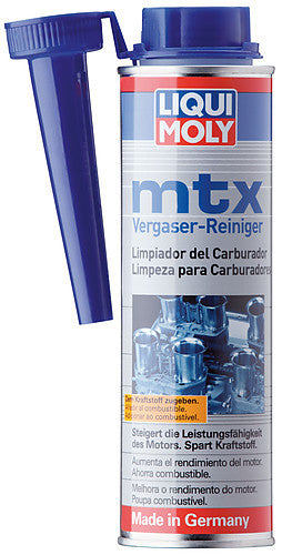 MTX CARBURETOR AND VALVE CLEANER 300ML