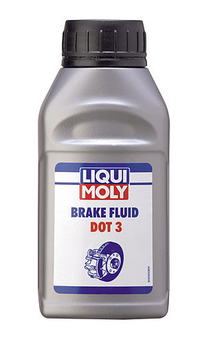 BRAKE FLUID DOT 3 250ML