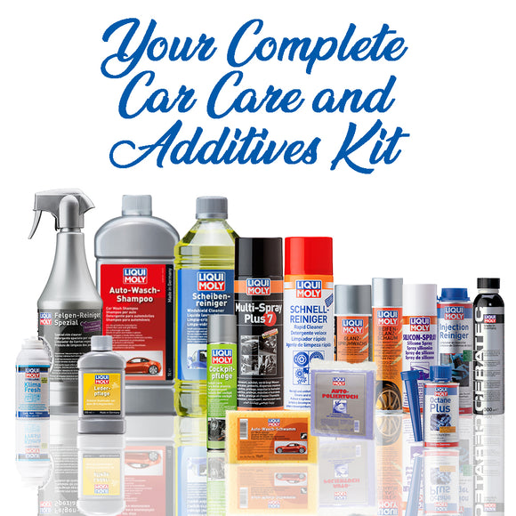 Liqui Moly Complete Car Care and Additives Kit