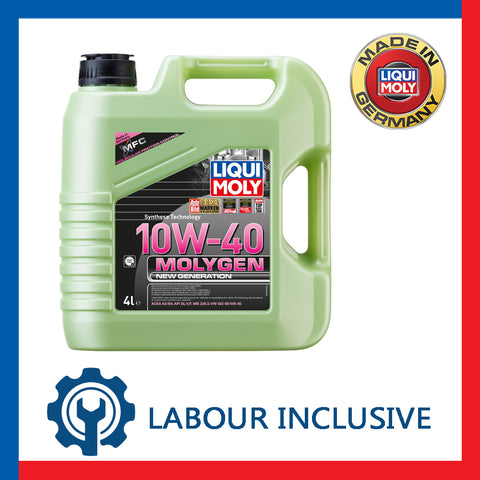 MOLYGEN ENGINE OIL SERVICING 10W40 4L