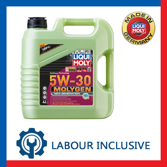 MOLYGEN ENGINE OIL SERVICING 5W30 4L