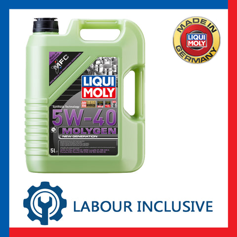 MOLYGEN ENGINE OIL SERVICING 5W40 5L