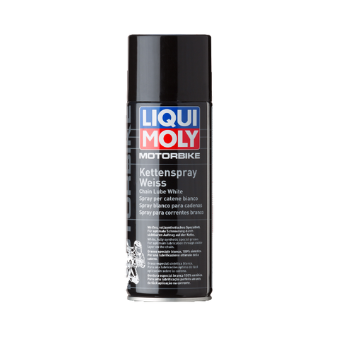 MOTORBIKE CHAIN LUBE SPRAY WHITE (BIG)