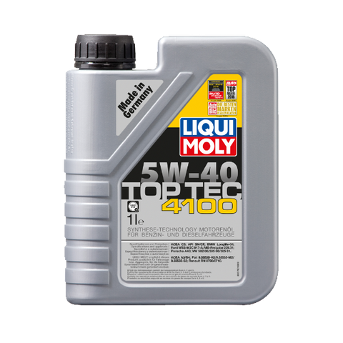 TOP TEC 4100 5W40 1L CAR ENGINE OIL