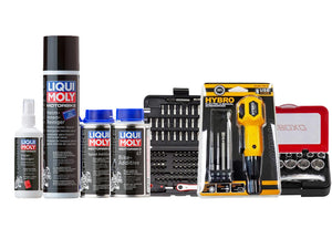 Liqui Moly X SIMZ Werkz Motorcycle Hands on Kit (Without Chains)