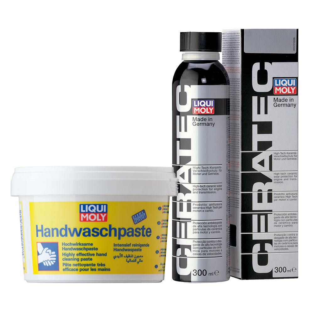 Liqui Moly Cera Tec And Hand Cleaning Paste Bundle Deal
