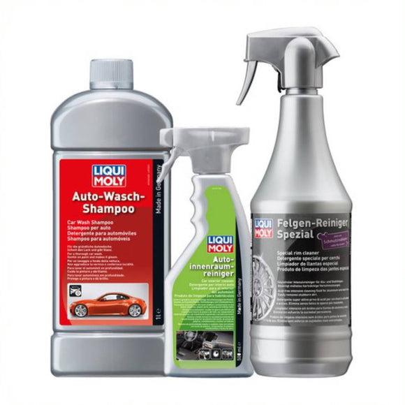Liqui Moly Car Exterior + Interior + Wheel Cleaning Kit
