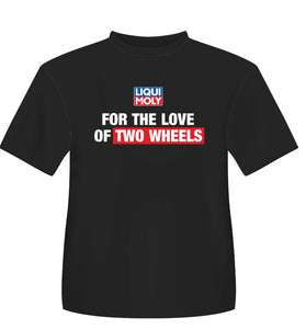 "Liqui Moly ""Two Wheels"" Round Neck T-Shirt"