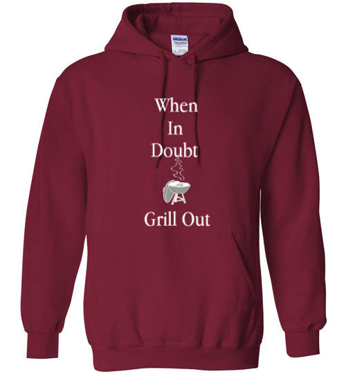 Grill Out Heavy Hoodie