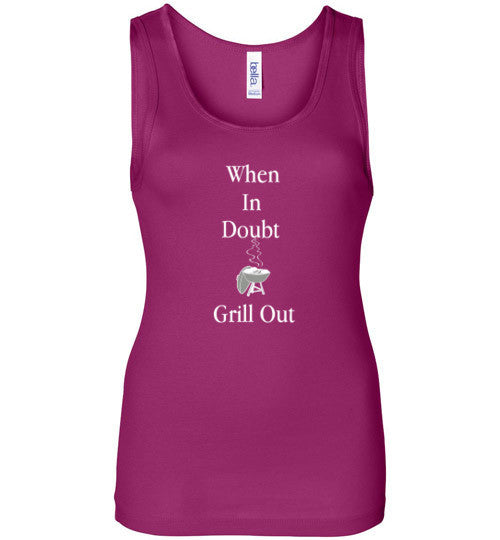 Grill Out Bella Wide Strap Tank top