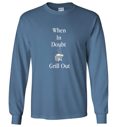 Grill Out Colored Long Sleeve