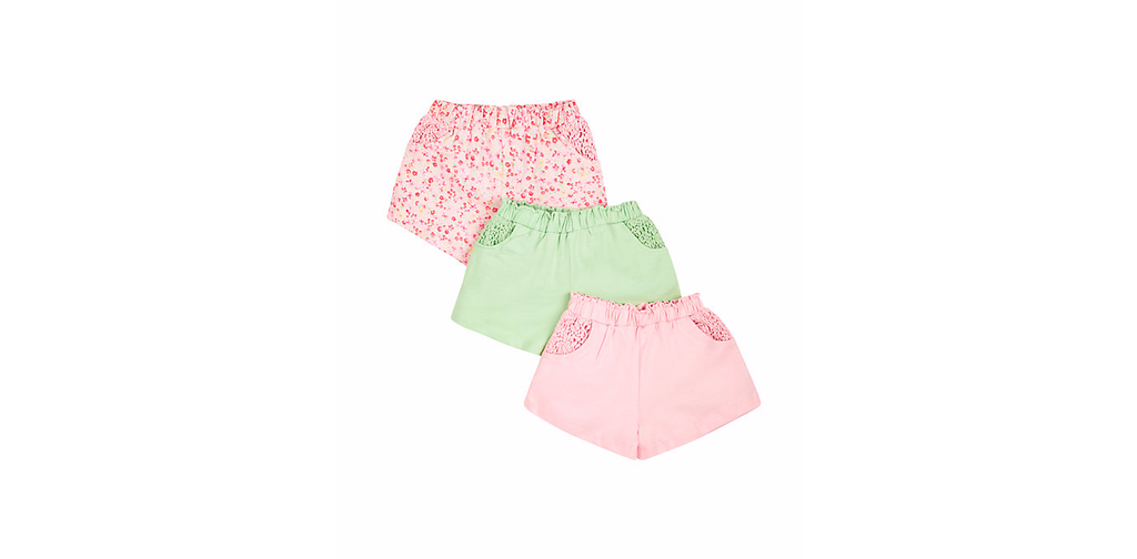 mothercare assorted shorts