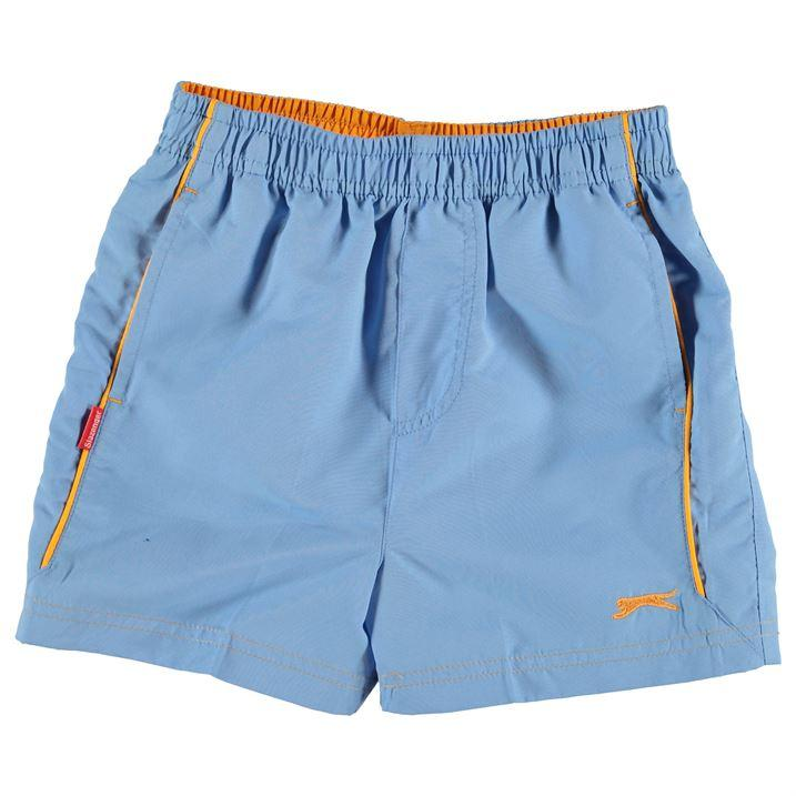 slazenger woven shorts- light blue