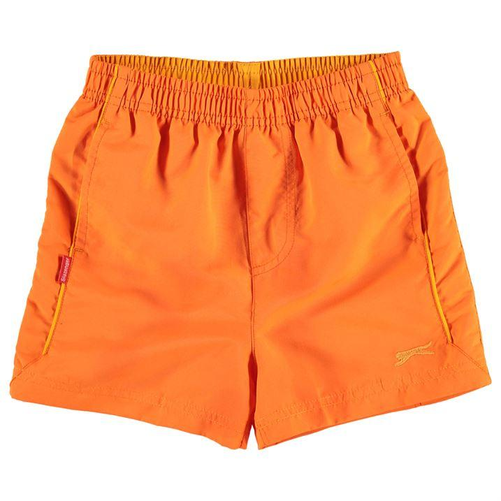 slazenger woven boys shorts-orange