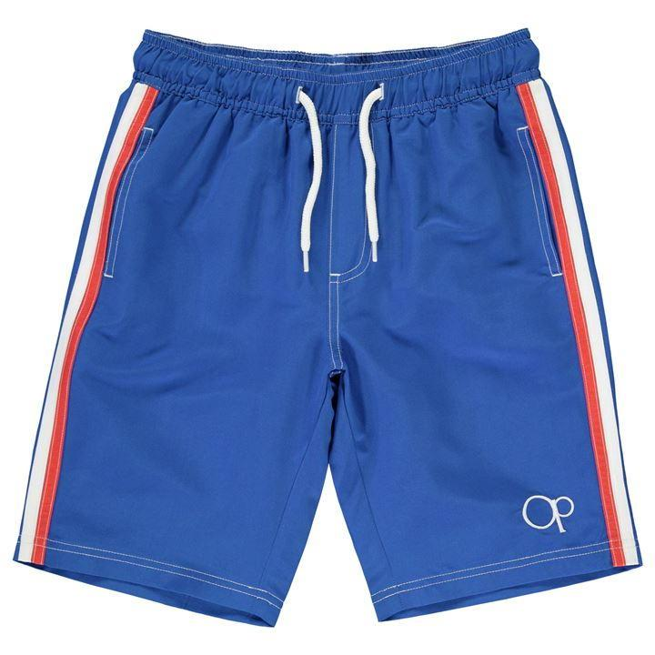 Ocean Pacific Plain Swim Shorts- royal