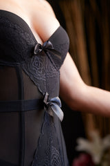 Half Moon - Corset and Bustier Set - Lingerie, from lakelace.com