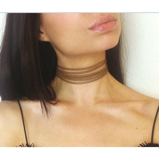 Multilayer Lace Choker - Lingerie, from lakelace.com